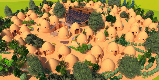 Earth Bag Village