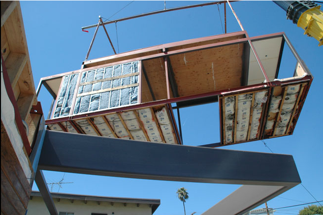 Living Homes utilises prefabrication to produce a high quality product in a timely manner.