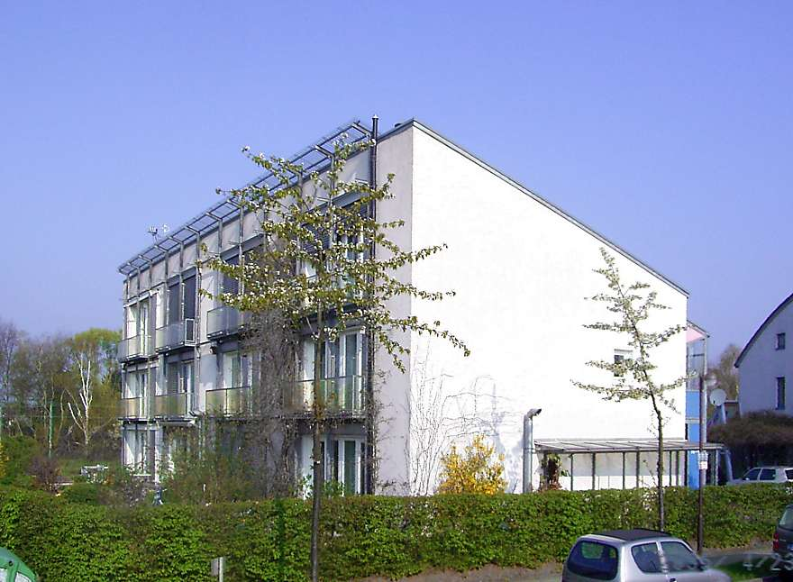 The first Passive House, Darmstadt-Kranichstein, Germany