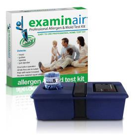 The examinair kit is just one of the products available at My Healthy Home