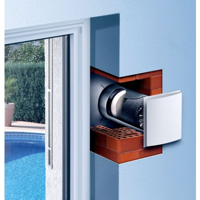 LUNOS through wall heat recovery ventilation