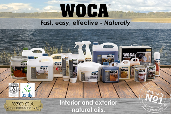 Sponsored link. Check out WOCA for great, natural oils.