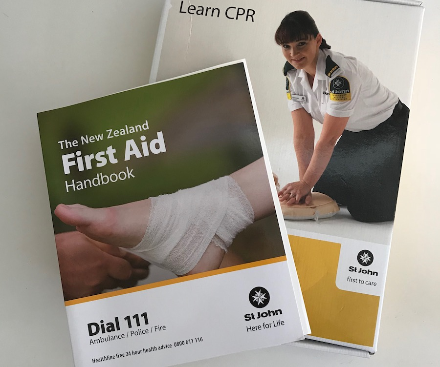 When was the last time your did a first aid course? I was amazed how much has changed and how much I learnt.